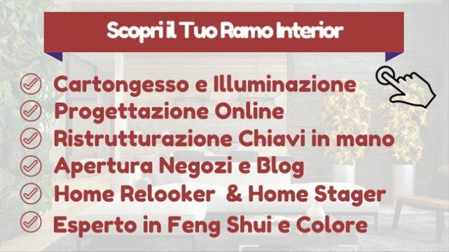 Corso interior design firenze serata di prova gratuita for Arredatore d interni napoli