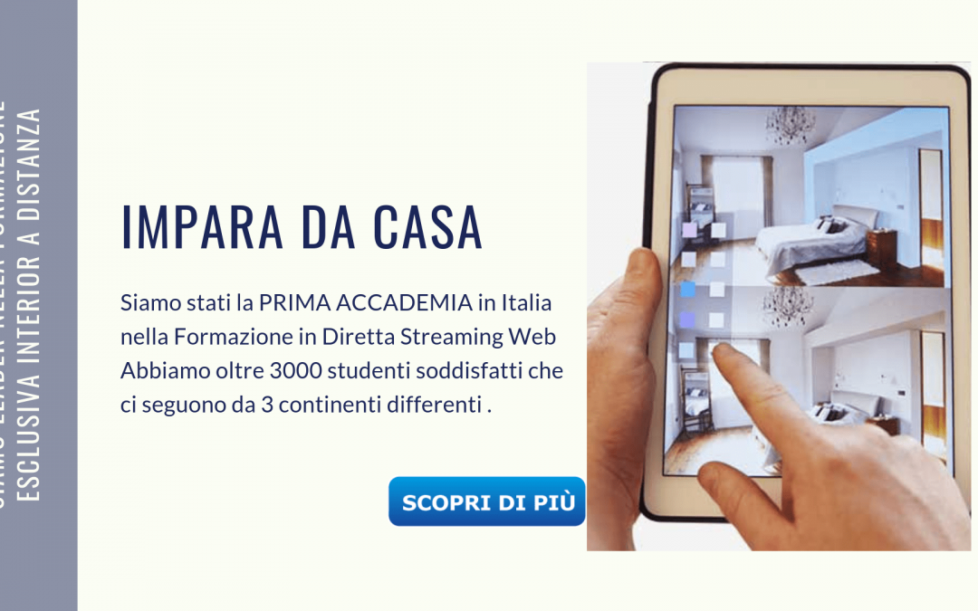 Corso design Roma: impara il mestiere dell'arredatore